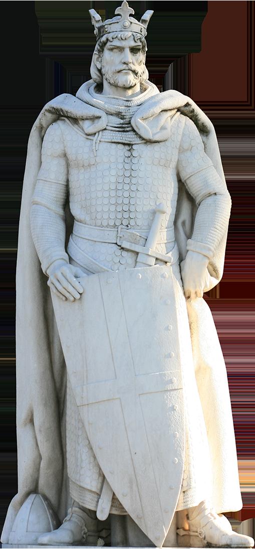 Escultura de D. Afonso Henriques.