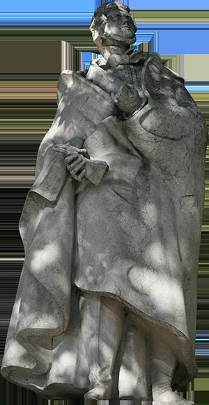 Estátua de Almeida Garrett.
