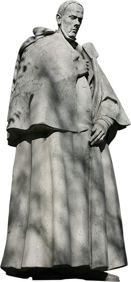 Estátua de Alexandre Herculano.