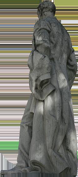 Estátua de Joaquim Pedro de Oliveira Martins.