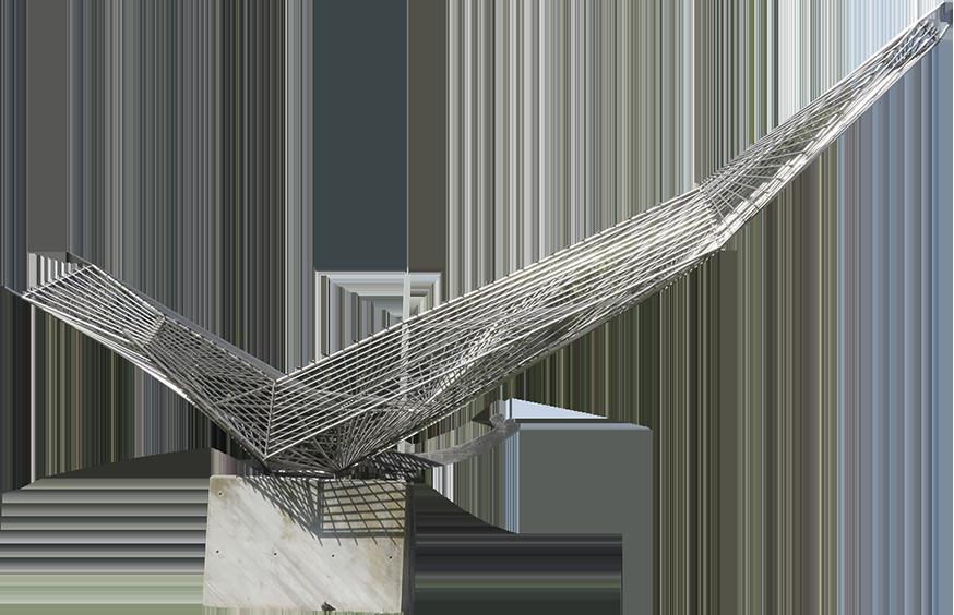 Monumento à I Travessia Aérea do Atlântico Sul.